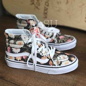 VANS SK8-HI Slim Abstract Floral Kid's AUTHENTIC